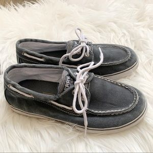 Sperry Top-Sider Halyard Canvas Boat Shoe Size 3
